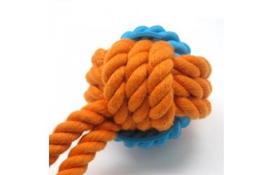 橡胶洁齿绳球(手挽带)