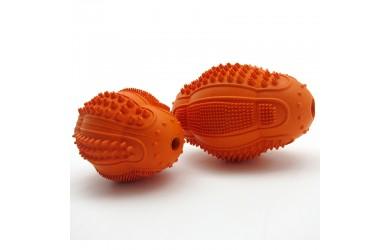 橡胶多功能洁齿橄榄球