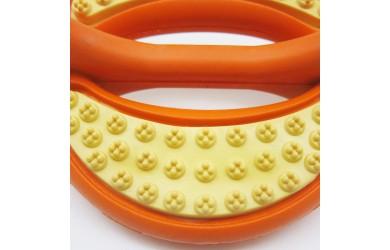 橡胶洁齿双色圆环