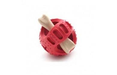 橡胶零食支撑球